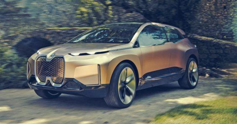 BMW Vision iNext – Nový koncept elektrického SUV