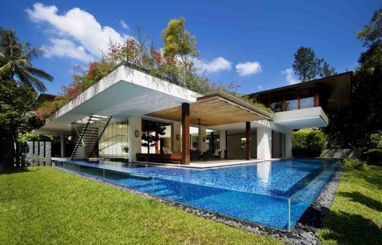 Coral House zo Singapuru vás uchváti spojením s prírodou