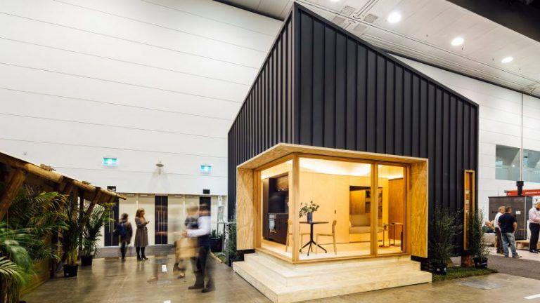 Malé domčeky navrhnuté pre Austrálsku charitu – Grimshaw Peak