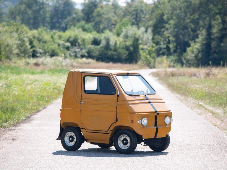 Nadčasový elektromobil z roku 1974. Toto je Zagato Zele