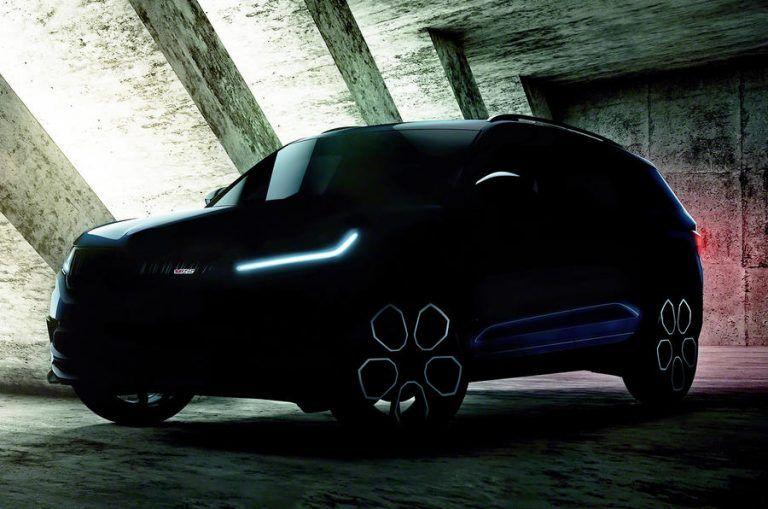 Škoda Kodiaq RS na prvých záberoch. Ukazuje digitálne budíky