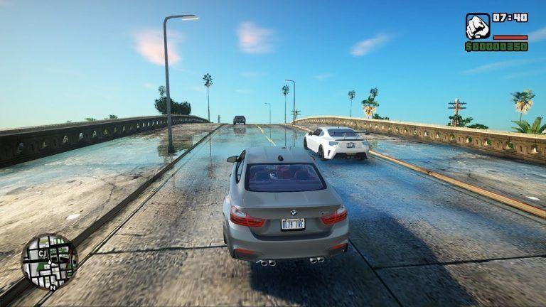 GTA San Andreas: grafický mód mení hru na nepoznanie
