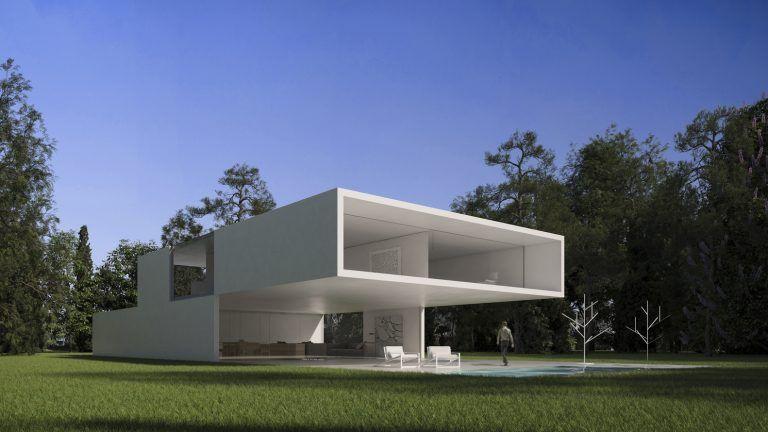 Lake House – Jednoduchá architektúra, ktorá vás uchváti